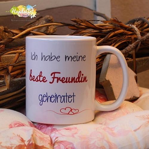 Kaffeebecher Tasse Ich Habe Meine Beste Freundin Geheiratet