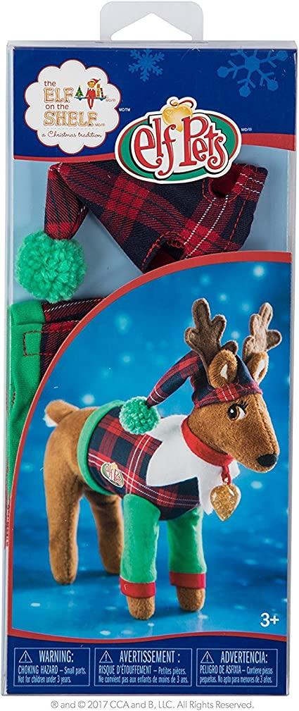New The Elf on the Shelf  Claus Couture Playful Reindeer PJ/'s