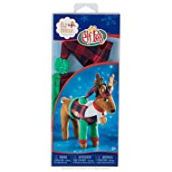 Elf on The Shelf Claus Couture Playful Reindeer Pjs Novelty, Red/Green