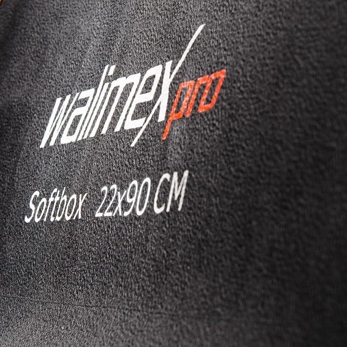 Walimex Pro Softbox Plus Orange Line 22x90 Cm Für Kamera