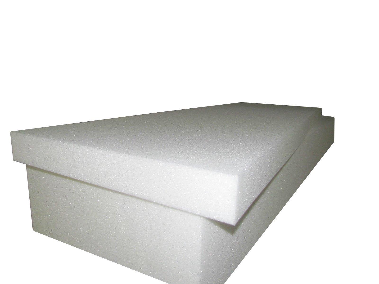 Foam Mattress - Single/Twin Size 7''x 39''x 75'' (Sofa Cushion Replacement Foam, RV Campers, Boats Caravans Mattress & more) '' Medium Firm (1536)