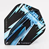 5 x Sets of Target Phil Taylor Vision Edge Standard blau Dart Flights