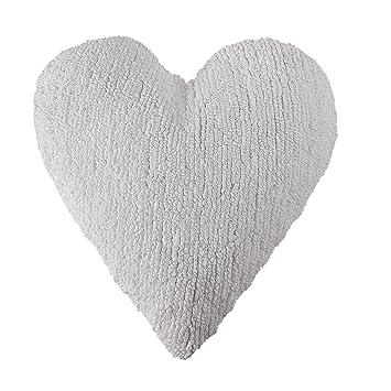Amazon.com: Cojín Corazón Blanco: Baby