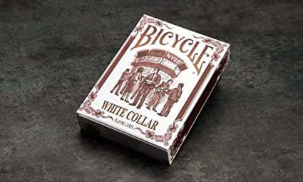 Amazon.com: Bicicleta White Collar Playing Cards by ...