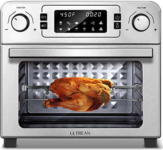 Amazon Com Ultrean 10 In 1 Toaster Oven With Rotisserie