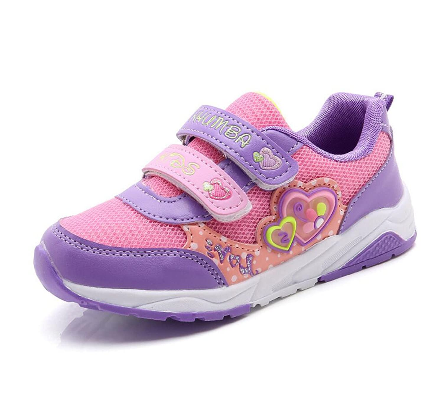 Otamise Girls Sneakers Kids Sport Athletic Running Shoes Lightweight Walking Shoes