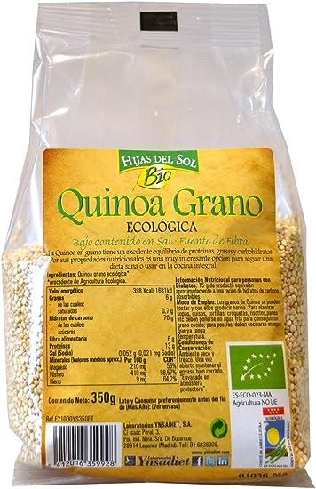 Hijas Del Sol Bio Quinoa Grano Bio - 350 gr