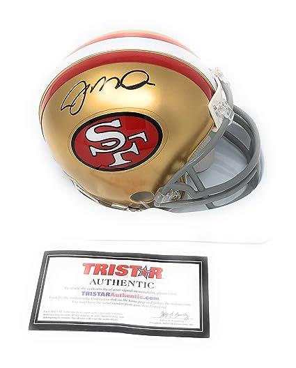 ea4c9ac6 Amazon.com: Joe Montana San Francisco 49ers Signed Autograph Mini Helmet  Tristar Authentic Certified: Sports Collectibles