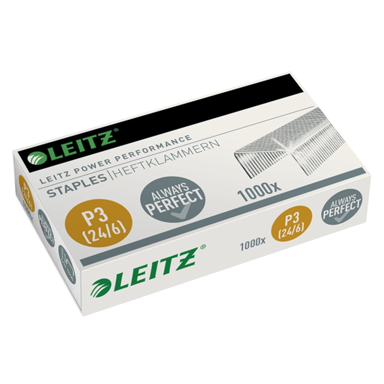 Leitz/ 1 /Punti per spillatrice disponibile in diverse dimensioni e quantit/à a scelta 24//6mm