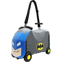 Frog Ride On Storage Box - Batman, Blue