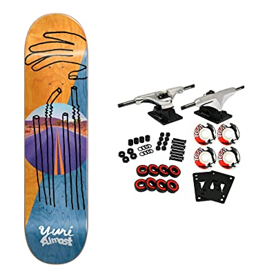 "Almost Skateboard Complete Facchini Diagonal 8.375"" : Sports & Outdoors"