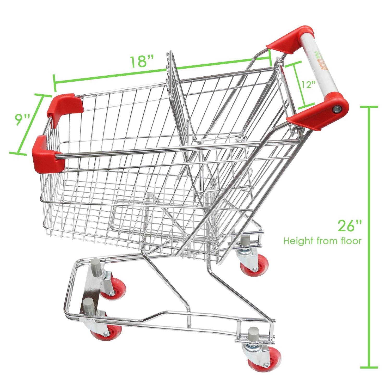 Amazon.com: Emmzoe - Carro de la compra para niños con ...