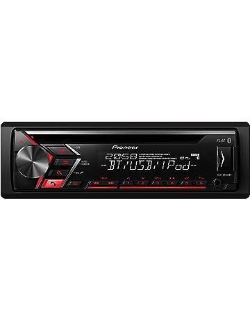 Pioneer DEH-S4000BT - Autorradio, Color Negro