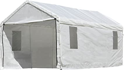 Amazon Com Shelterlogic Maxap Clearview Enclosure Kit With Windows 10 X 20 Ft Frame And Canopy Sold Separately Sports Outdoors