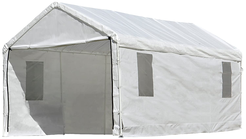 Amazoncom Shelterlogic Maxap Clearview Enclosure Kit With Windows