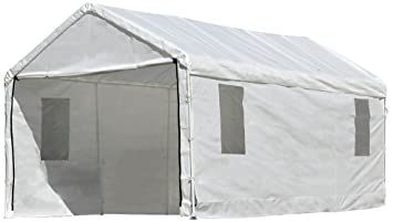 ShelterLogic MaxAP ClearView Enclosure Kit with Windows 10 x 20 ft. (Frame and  sc 1 st  Amazon.com & Amazon.com: ShelterLogic MaxAP ClearView Enclosure Kit with ...