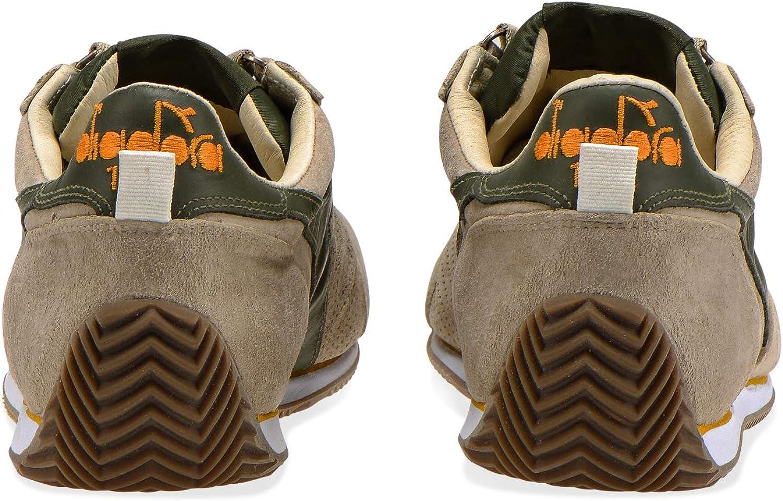Diadora Heritage - Sneakers Equipe S Sw 18 Pour Homme Et Femme 75013 Cobblestone Gray