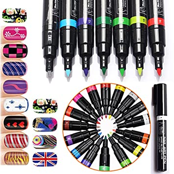 Amazon Newest Trent Nail Art Pen For 3d Nail Art Diy