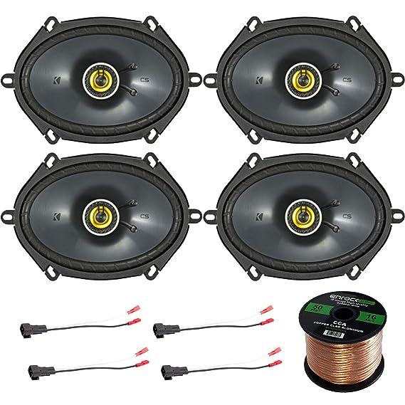 amazon com car speaker set combo of 4 kicker 40cs684 6x8\