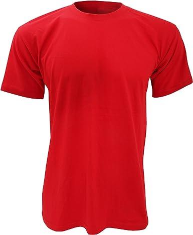 B&C - Camiseta Básica entallada de manga corta para hombre - Verano: Amazon.es: Ropa y accesorios