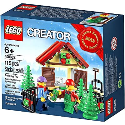 Lego Creator Tree Stand 2013 Limited Edition Holiday Set 40082: Toys & Games