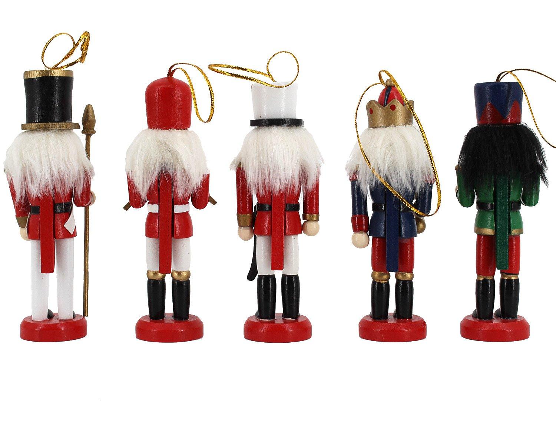 Amazon.com: Novias Music Band Nutcrackers Soldiers Wooden Puppet ...