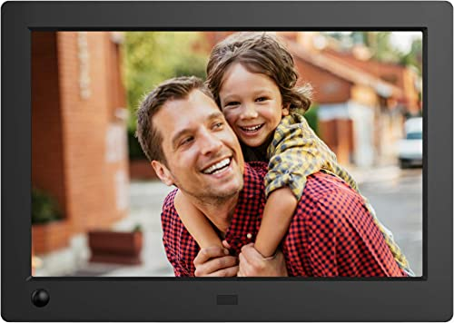 NIX Advance Digital Photo Frame 8 inch X08G Widescreen. Electronic Photo Frame USB SD SDHC. Digital Picture Frame with Motion Sensor. Remote Control Included Renewed