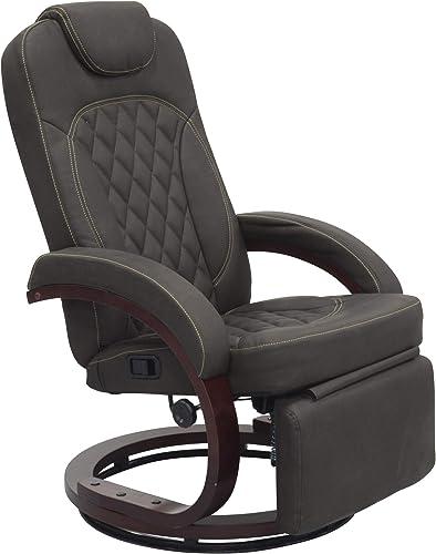 THOMAS PAYNE Oxford Walnut Euro Recliner Chair