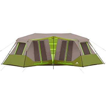 Ozark Trail 8 Person Instant Double Villa Cabin Tent Green  sc 1 st  Amazon.com : ozark 8 person instant tent - memphite.com