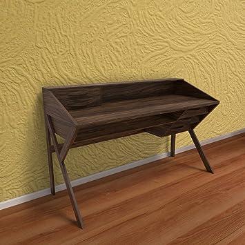 big sale 4295a 0ab0f Stoa Paris Contemporary Study Table (Walnut): Amazon.in ...