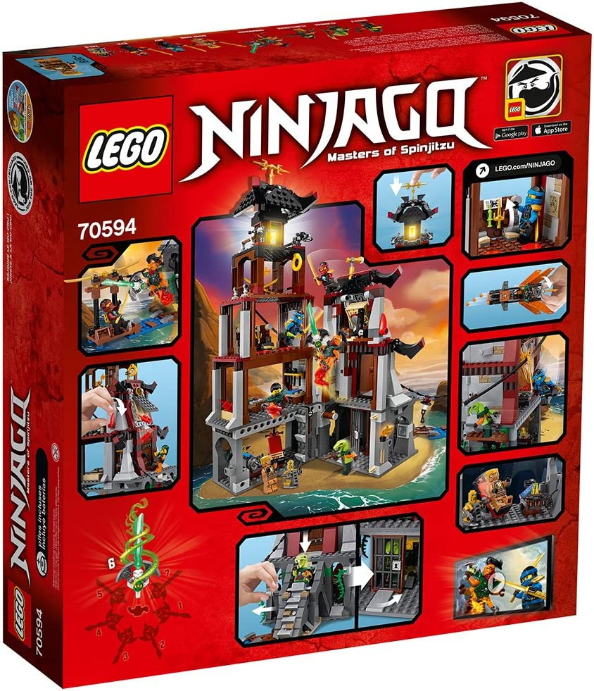 Amazon.com: Juego para niños LEGO Ninjago el Faro ...
