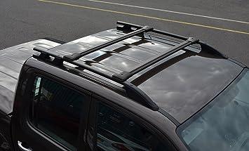 Alvm Parts Accessories Querträger Set Für Dachseitenträger Schwarz Auto