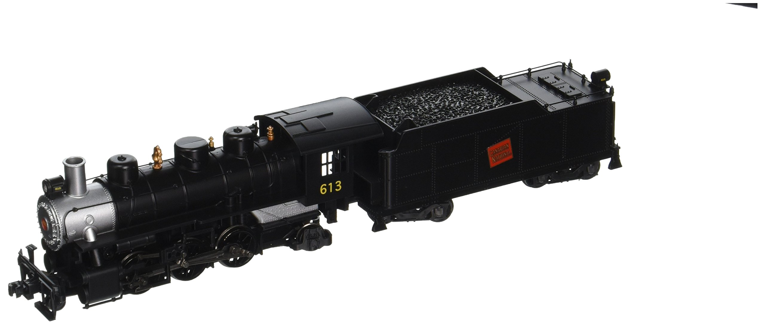Bachmann Industries Canadian National Prairie 2-6-2 Locomotive with Smoke & Tender