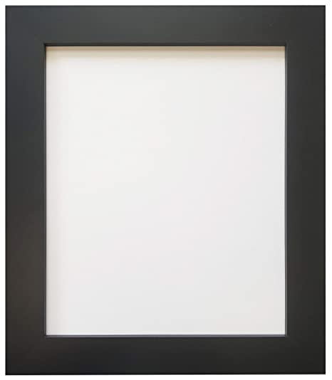 Metro Black Picture Photo Frame 12 x 8 inch: Amazon.co.uk: Kitchen ...