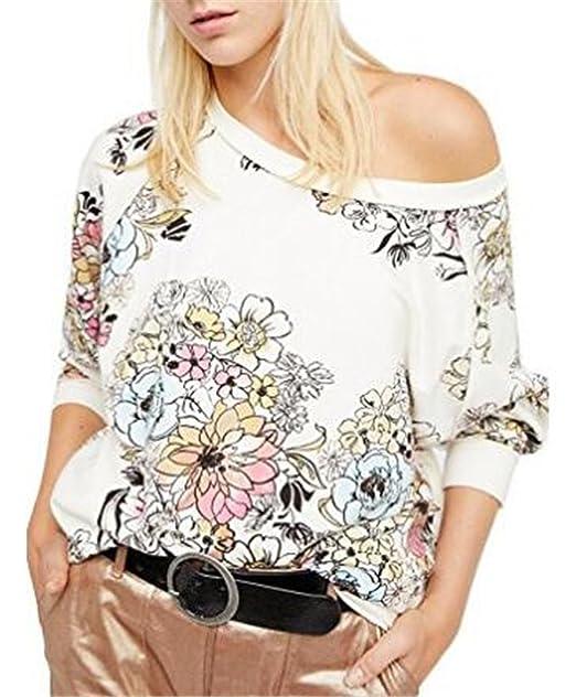 ... Casual Estampado Floral Blusas Patchwork Multicolor Camiseta Universidad Joven Sudaderas Bonitas Oficina Tops Clasicos: Amazon.es: Ropa y accesorios