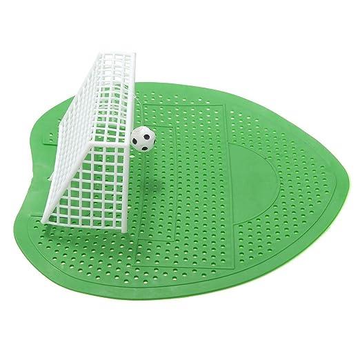 REFURBISHHOUSE 2 x Fussball Urinaleinlage Urinaleinsatz Urinal Gitter WC Klo Schutz