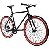 Zydek Fixed Gear Single Speed Fixie Road Bike with Flip Flop Hub Size Medium (54cm)