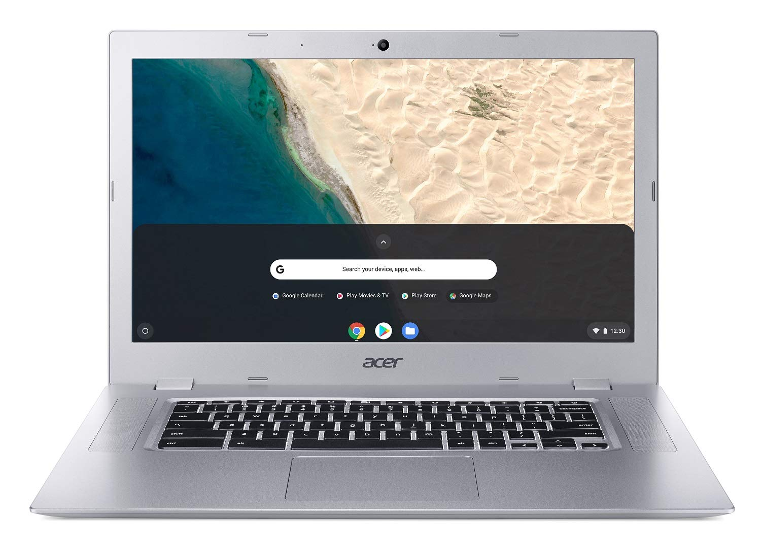 "Acer Chromebook 315, AMD Dual-Core A4-9120C Processor, 15.6"" AMD Radeon R4 Graphics, 4GB DDR4, 32GB eMMC, Google Chrome 1"