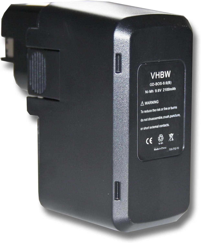 vhbw Batería 2000mAh para herramientas Skil B 2100, B 2109, B 2109k, B 2110, B 2220