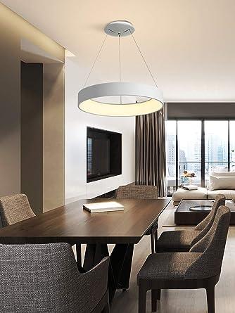 ZA Pendelleuchten Moderne LED Esstisch Hängelampen Aluminium