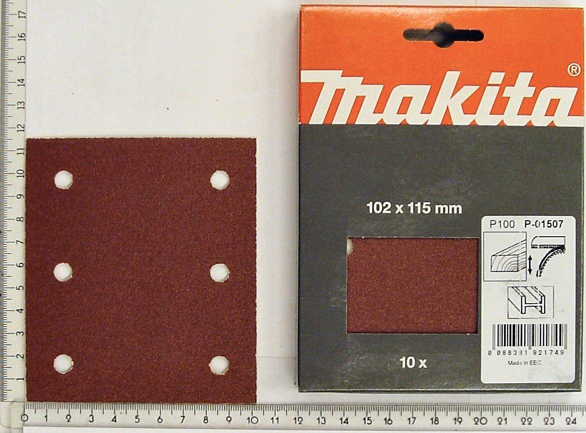 rouge P-33093 Makita Velcro Bandes de pon/çage