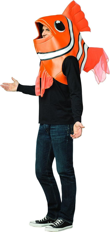 Disfraz de pez payaso para adulto: Amazon.es: Juguetes y juegos