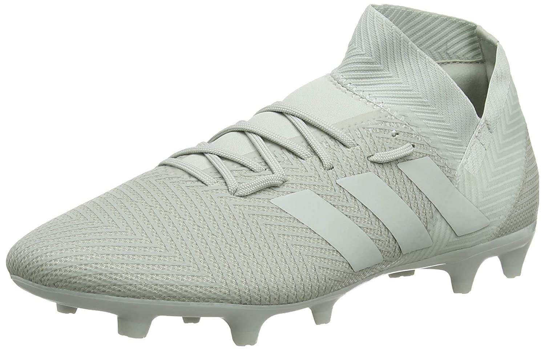Adidas Herren Nemeziz 18.3 Fg Fußballschuhe, grau mat Weiß, Eu