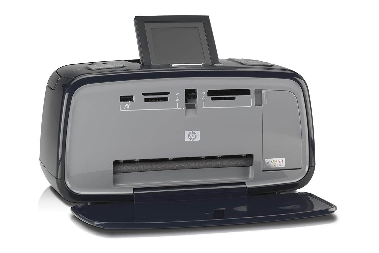 Amazon.com: HP Photosmart A617 Compact Photo Printer: Camera ...
