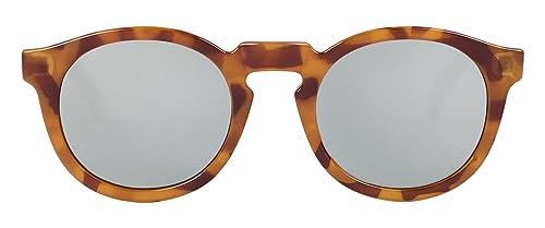 MR.BOHO, Leo tortoise jordaan with silver lenses - Gafas De Sol unisex multicolor (carey), talla úni...