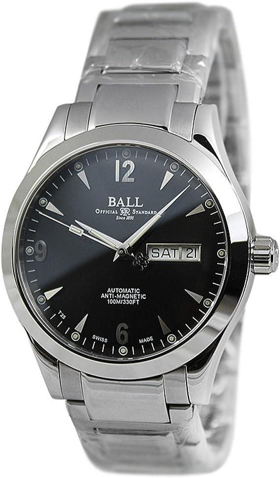 Reloj Ball Engineer II Ohio, Ball RR1102, Negro, Brazalete
