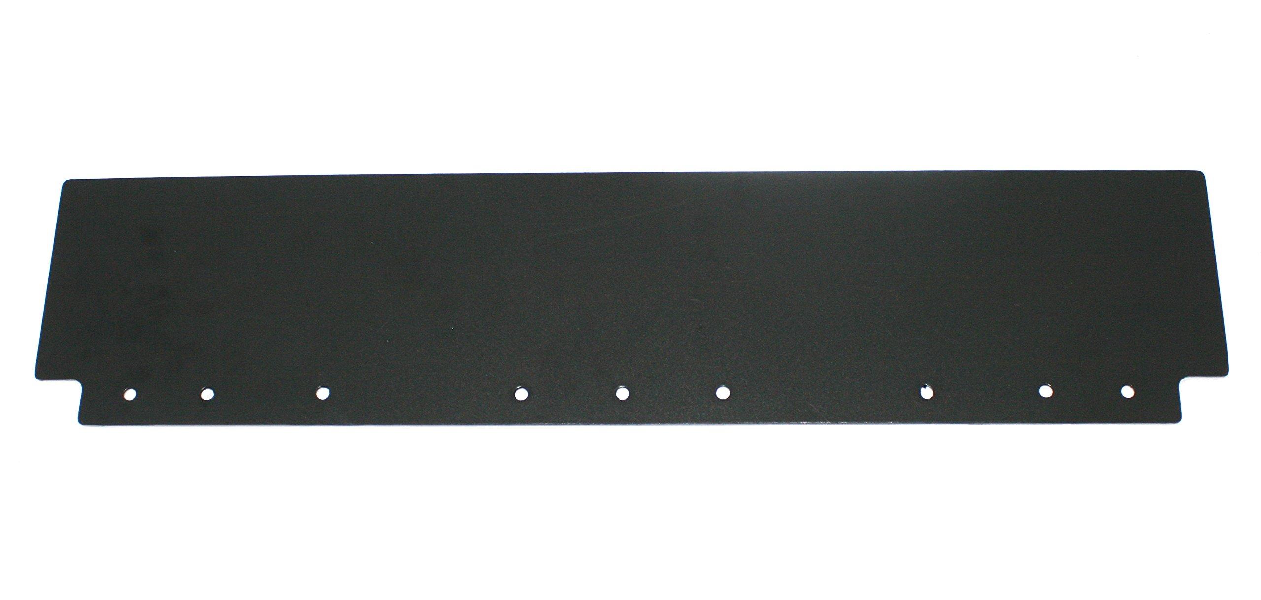 AeroPro Plain Black 6'' x 24'' Semi Truck Mud Flap-Quarter Fender Flaps