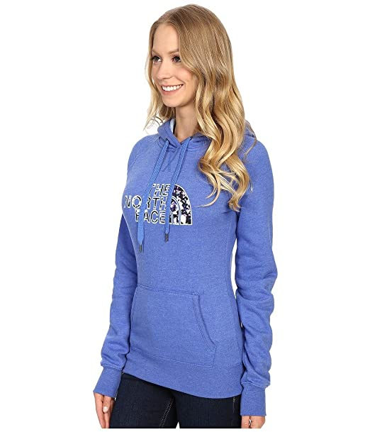 c340d4c8bfa Amazon.com: The North Face Women's Avalon Crystal Floral Pullover Hoodie,  Coastline Blue Heather, LG: Clothing
