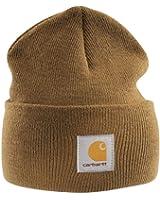 Carhartt Acrylic Watch Cap - Brown Mens Winter Beanie Ski Work Hat