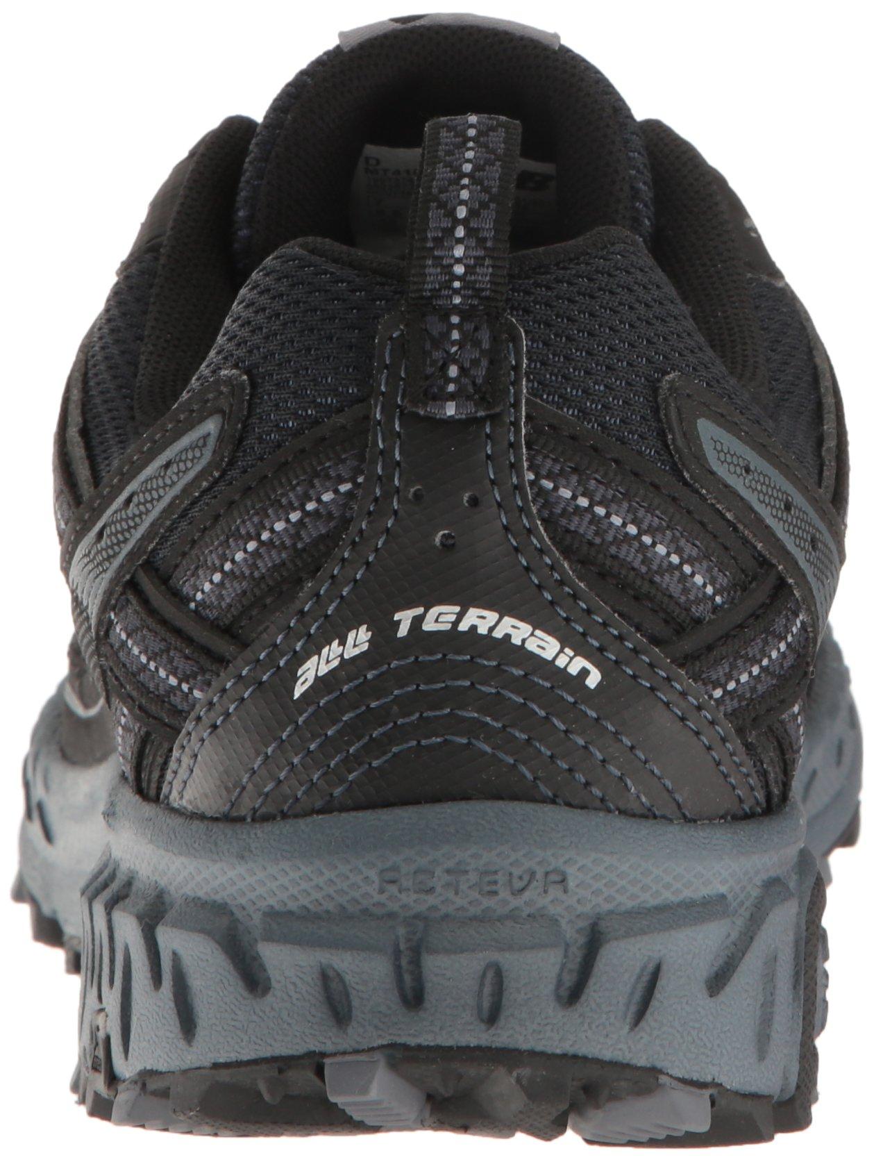 New Balance Men's MT410v5 Cushioning Trail Running Shoe, Black, 7 D US by New Balance (Image #2)